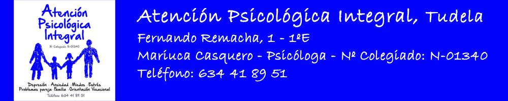 Atención Psicológica Integral, Tudela :: Psicólogo Tudela :: Psicología Tudela