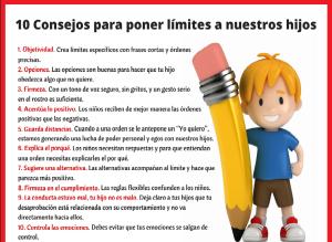 Educa limites hijos